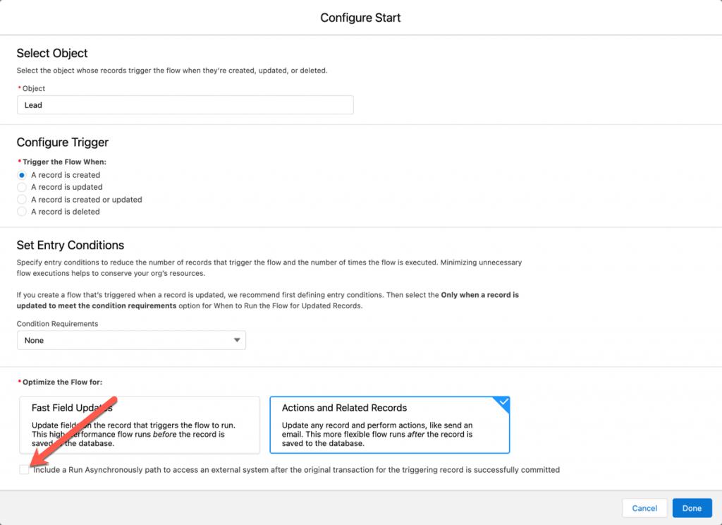 Mit dem Salesforce Winter 22 Release: Asynchrone Pfade